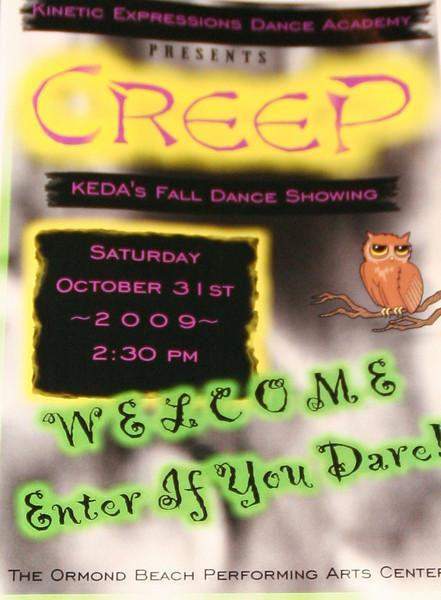 CREEP  - October 2009