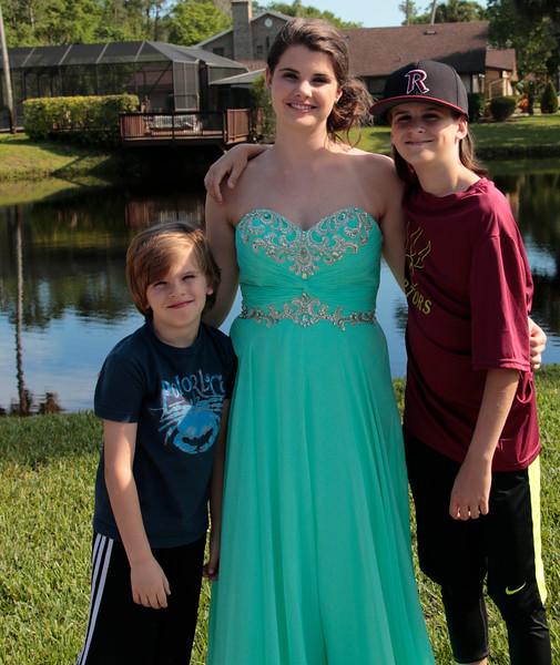 Makenzie & her brothers