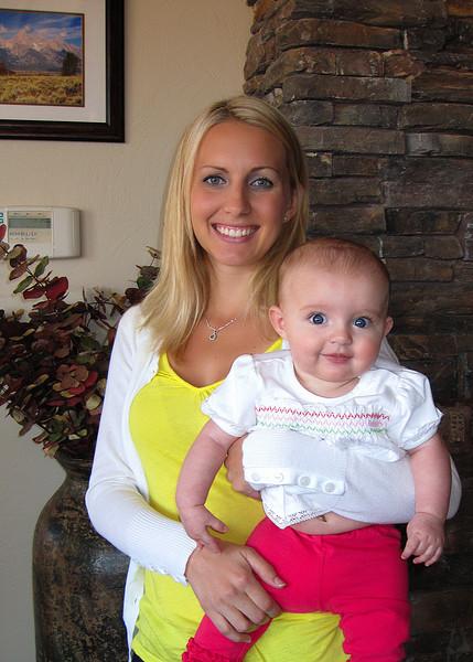 Beautiful Amber and the beautiful Paige