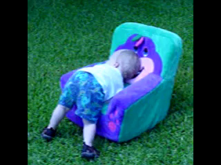 Jacob and his Barney Chair plus Thppppppppppppt scene.