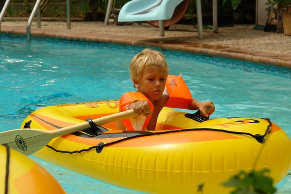 Mark's boys swim on 070307.