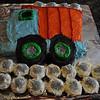 Amy made Wes' birthday cake
