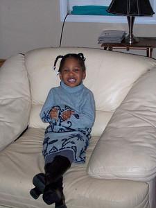 2007-1-1 My little diva, isn't she cute!