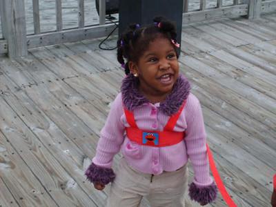 Kyra the diva smiling