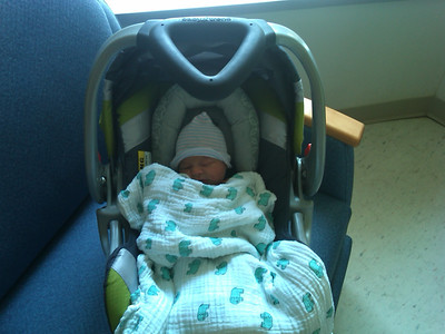 My new grandson July 30, 2012