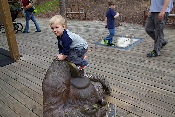 Nathaniel goes to the zoo