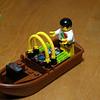 Zac's boat creation.