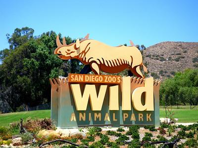 Family Outing to San Diego Wild Animal Park, Escondido, CA June 27, 2010