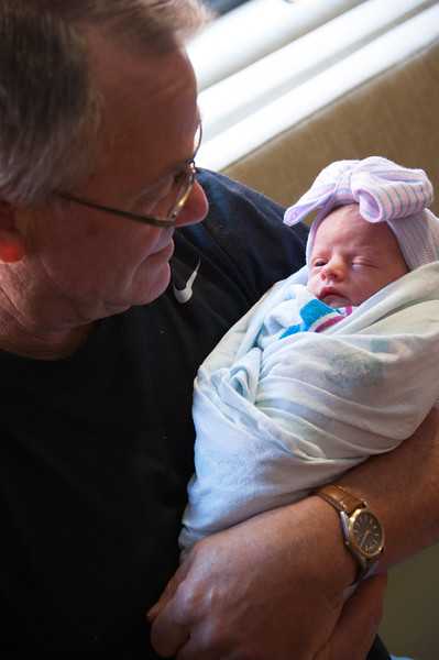Grandpa Denny and Payton