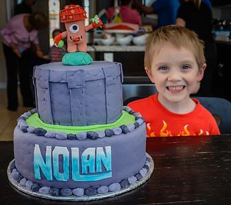 Nolans Fourth Birthday