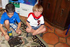 September - Play time with cousin Gabe