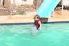 September - enjoying our pool