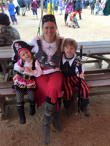 Feb. - Pirate Day at Renaissance Fair - photo courtesy Mom and FaceBook