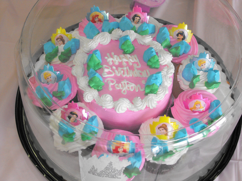 Peyton's Princess Birthday cake
