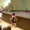 I tried to get a movie of Peyton as she walked across the stage but the camera was way out of focus.....