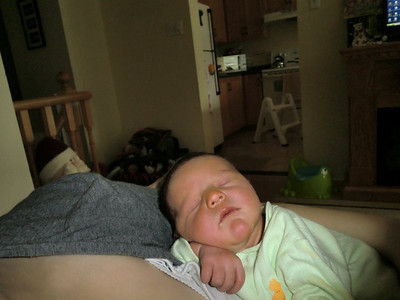 Eli napping...aaahhhhh