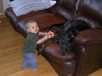 RYLEY IS 9 MONTHS OLD - OCT 2007