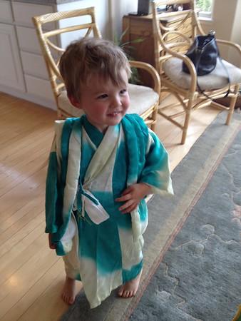 Roy's Third Birthday, April 2015