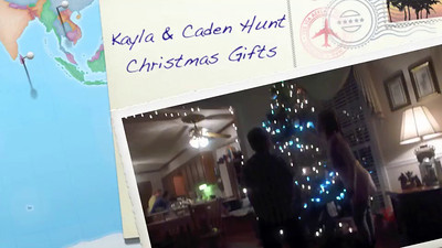 Kayla and Caden Christmas at the Graves 12-20-13  VIDEO