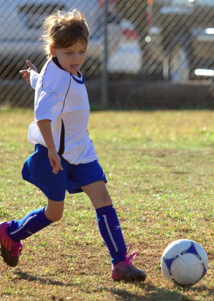 Samantha and Porter Soccer