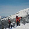 Skiing with Jasper & Mark 02 pan (view of Old Glory)