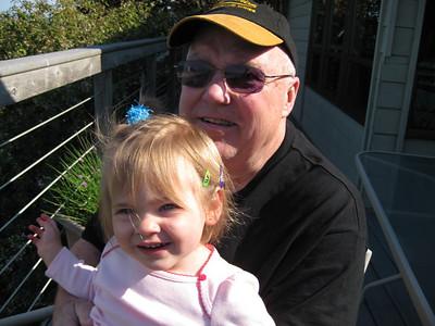 Sophie is helping Grandpa Babu feel better!