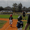 Seth's 1st BB game of 2011.  He just got a single and is running to 1st base.