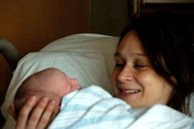 A Mother's Joy.