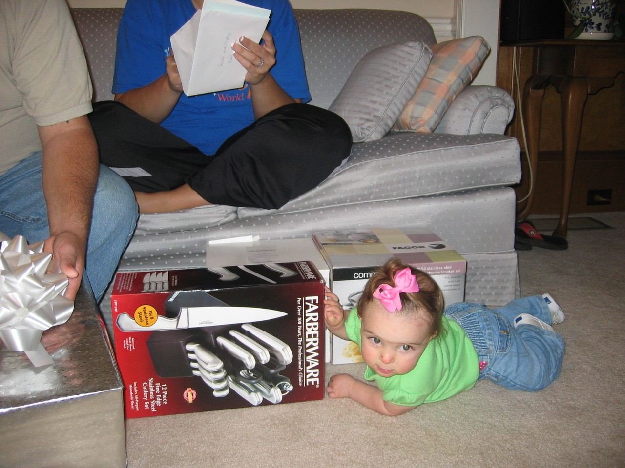 From Shane, Rileigh loves the boxes!
