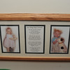 On her wall is displayed a photo set I presented to her on her second birthday. I took the pix and composed the poem.
