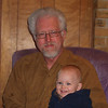 Grandpa Frank and Tristen<br /> Thanksgiving, 2009