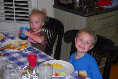 Tyler, Ella & Charlie visit SoCal - March 2008