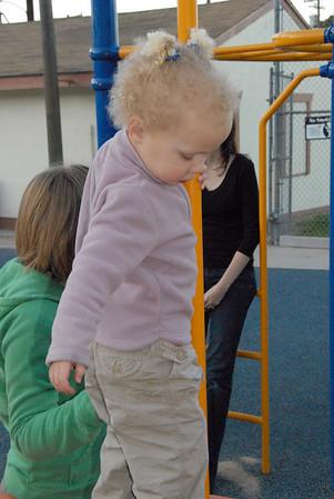 Tyler, Ella and Audrey visit Walteria Park- December 2006