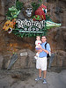 daddy & tyler at rainforest cafe 2