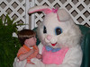 The Easter Bunny really can talk!