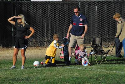 Tyler's Soccer Game- September 2007