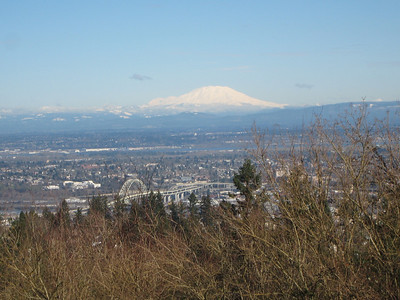 Views of Portland and Mt. St. Helens from Council Crest