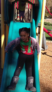 Video of the girls on the playground at EHR.
