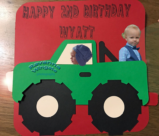 """Wyatt is """"2"""""""
