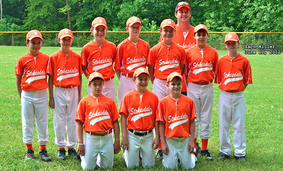 Stokesdale North Carolina All Star Team 2012