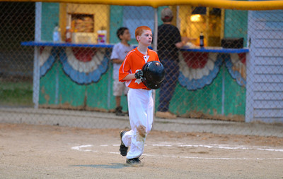 Zach after scoring run at Stokesdale park (May 2012)