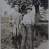 Grandfather Van Wie with a nice catch. And with my grandmother.  I am guessing this is at Silver Bay on Lake George.  Probably between 1910 and 1920.