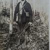 My grandfather, J. Allen Van Wie,  on a deer hunt, probably in the 1920s.