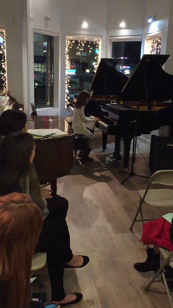 Dani's Piano Recital, Dec 2016