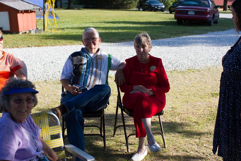 Grandma and Grandpa 50th anniversary