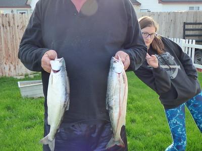 Grandpa has good day fishing 5/2016