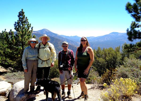 Grandview Hike with Sierra Club, Big Bear Lake CA September 15, 2018
