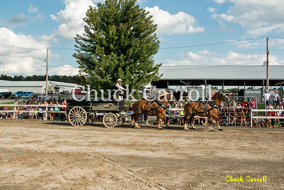 Grange Fair Friday 8-23-2013  - Draft Horse Competition  - Centre Hall PA