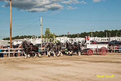 Grange Fair - Draft Horse Show - Saturday 8-24-2013