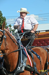 Grange Fair 2010   --  Thursday Draft Horse Show - Afternoon   --  Centre Hall Pennsylvania
